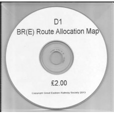 D01.CD BR(E) Route Allocation Map