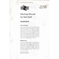 RR024 BR Working Manual for Rail Staff 1969