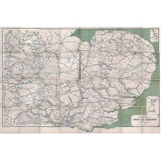 CH.DL Clearing House Map of Eastern England 1917 as a Download