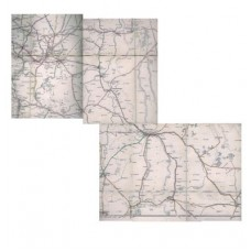 MP040 Clearing House Map of Eastern England 1917