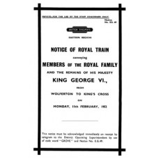 RH016 Death of King George VI