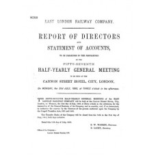 RC010 East London Rly Directors Report 1893