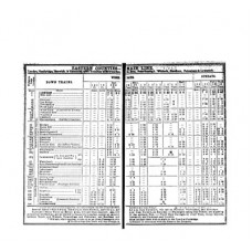 TP003 Eastern Counties Timetables 1851
