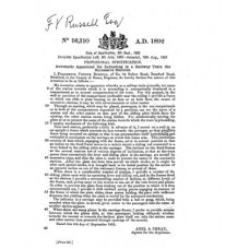 RE021 F. V. Russell Patents
