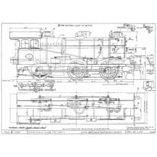 LG020 GER 0-6-0 Tender Loco