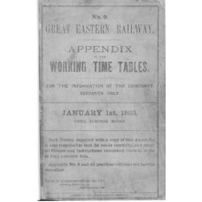 TW030 GER Appendix to the Working Timetable 1893