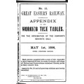 TW031 GER Appendix to the Working Timetable 1896