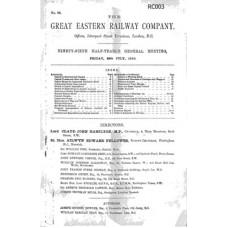 RC003 GER Directors Report 1910