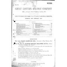 RC006 GER Directors Report 1913