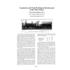 TO002 GER Locomotive and Train Working in the latter 19thC