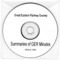 GER.CD GER Minutes Summaries