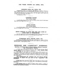 RE020 GER Notice of New Works No. 450  April 1904