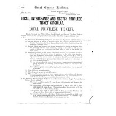 RC015 GER Privilege Tickets 1913