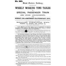 TW007 GER Weekly Special Notices February 1913