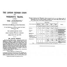 RH014 GER Workmens Trains 1897
