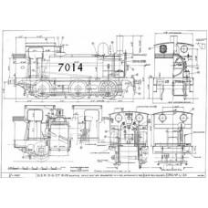 LG009 GER and LNER 0-6-0 Tank Locos