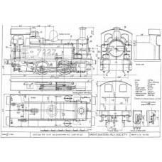 LG003 GER and LNER  0-4-0 Tank Locos