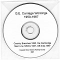Carr.CD GE Carriage Workings CD