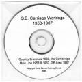 Carr.CD GE Carriage Workings CD