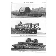 LM053:   Wagons for exceptional loads, LNER 1929.
