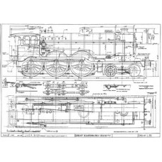 LG022 LNER 4-6-0 Tender Loco