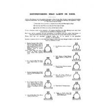 RR016 LNER (GE Section) Headcodes 1927