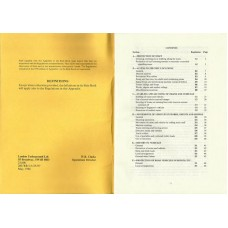 RR035 LT Safety Regulations for Staff