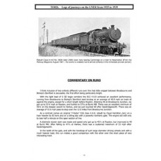 TO026 Logs of LNER Journeys 1935-1939