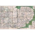 CH.CD Clearing House Map of Eastern England 1917