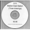 D13.CD Maldon East Station Plans