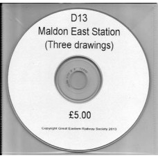 D13.CD Maldon East Station Plans