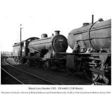 PL002  March Locomotive Depot in 1955