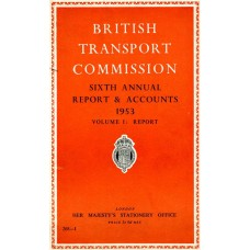 RC025  The British Transport Commission Sixth Annual Report, 1953