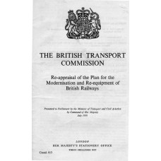 RC027  British Transport Commission Reappraisal of the Modernisation Plan 1959