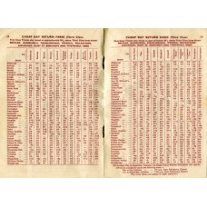 RC030  Cheap Day Tickets in the Eastern Counties, LNER 1939