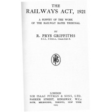 RC038  The 1921 Railways Act