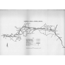 RC041  Proposed Closure of Stations between Cambridge and Ipswich, BR 1965