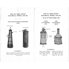 RE033  Portable Fire Extinguishers, BR 1965