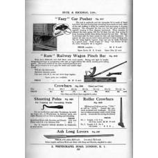 RE038  Railway Tools 1958