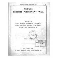 RE042   Modern British Permanent Way 1915