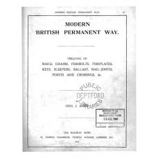 RE042   Modern British Permanent Way 1915