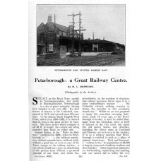 RG032  Peterborough as a railway centre, 1926.
