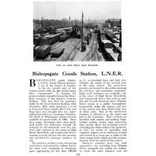 RG033  Bishopsgate Goods Depot, 1933