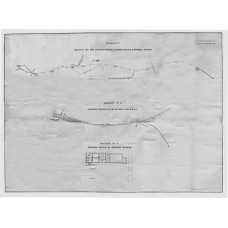RH030  The Original Drawing from the Report into the Fatal Collision near Norwich in 1874