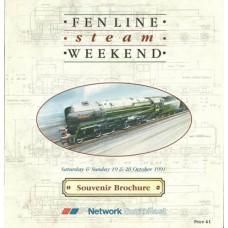RH032  Fen Line Steam Weekend 1991