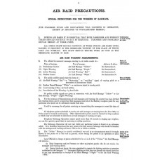 RH039  Air Raid Precautions, LNER 1940