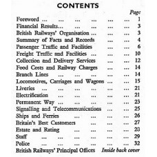 RH063 Facts and Figures about British Railways 1951