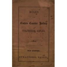 RH069  Rules of the ECR Volunteer Rifles 1859