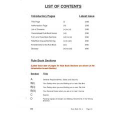 RR048 Railtrack Rule Book for Drivers 1996