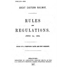 RR050 GER Rule Book 1904